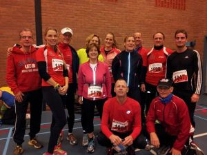 Bergse Runners looking very cool before the Midwinterduinloop.